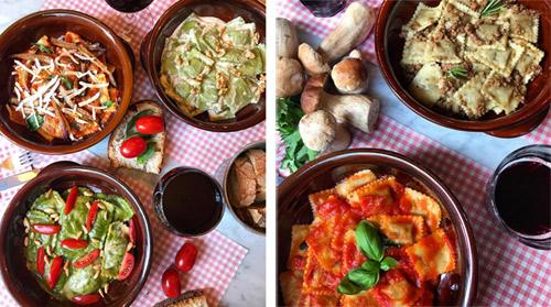 """Il primo """"fast restaurant"""" di pasta fresca ripiena"""