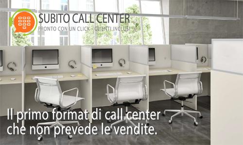 Il tuo call center con clienti inclusi, anche 100% smart working.